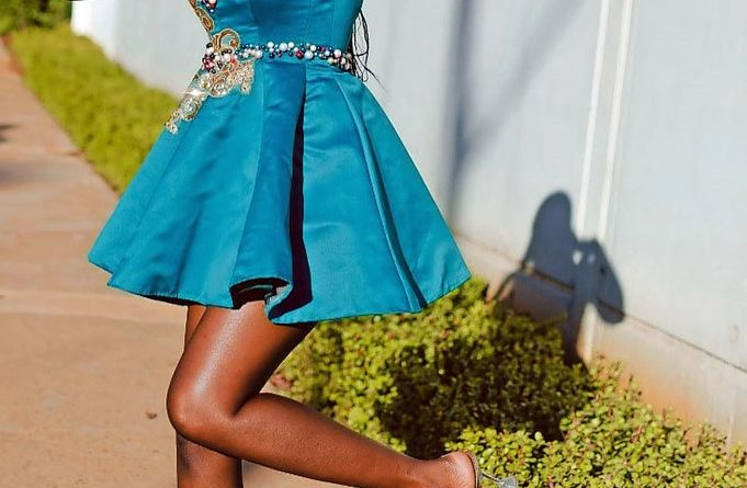 Machabe, the first openly transgender woman to enter Miss SA.